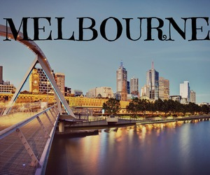 city, Dream, and melbourne image