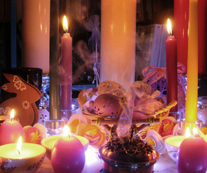 altar, pagan, and magick image