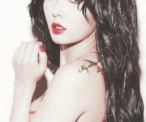 bra, kpop, and lips color image