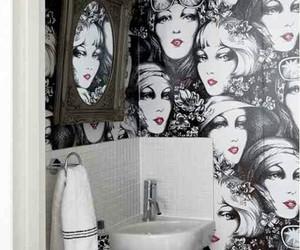 bathroom, decor, and fun image