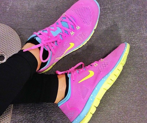 nike, shoes, and be jel image