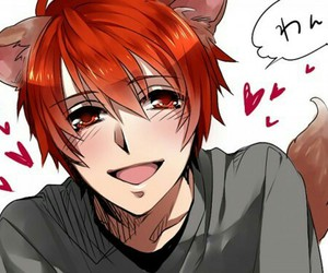 anime, neko, and otoya image