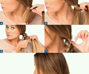 cabelo, hair, and tutorial image