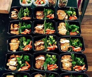fit, food, and tumblr image