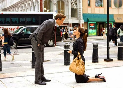 sandra bullock, the proposal, and ryan reynolds image