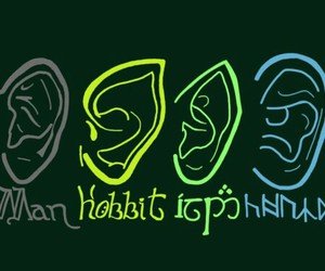 dwarf, hobbit, and middleearth image