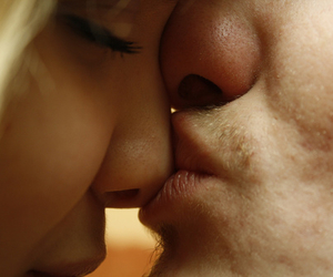 adorable, couple, and intimate image