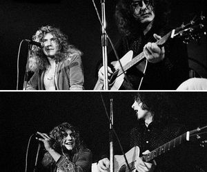 led zeppelin, page, and plant image