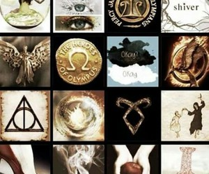 harry potter, shiver, and paper towns image
