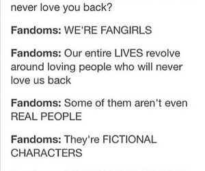 fangirls, ikr, and the frandom image
