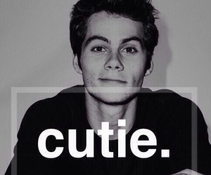 cutie, dylan o'brien, and teen wolf image