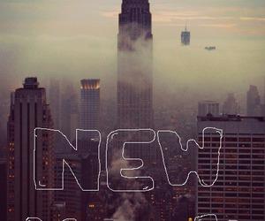 new york, city, and gif image