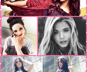 lucy hale, sasha pieterse, and crystal reed image