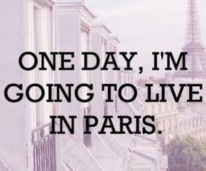 paris and text image