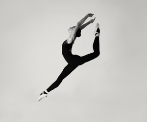 dance, ballet, and jump image