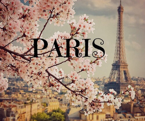 paris, spring, and travel image