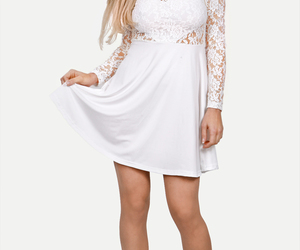 lace dress and teen image
