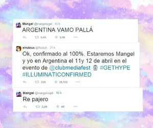 argentina, twitter, and wish image
