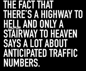 heaven, hell, and highway image