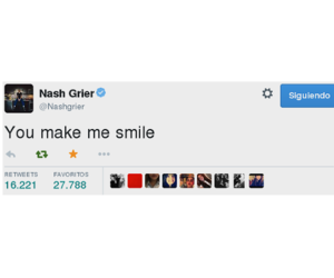 aww, my love, and nash grier image