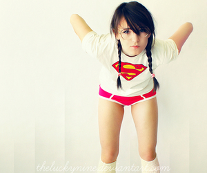 girl and superman image