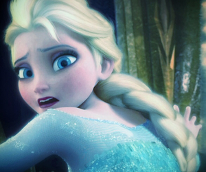 disney, fear, and frozen image