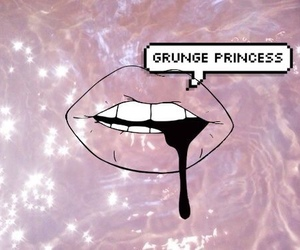 grunge, princess, and pink image