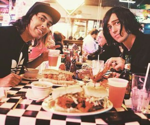 kellin quinn, pierce the veil, and vic fuentes image
