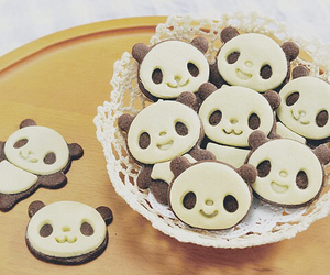 Cookies, panda, and cute image