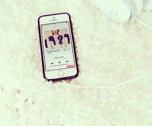iphone, Taylor Swift, and music image