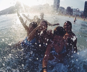 friends, fun, and summer image