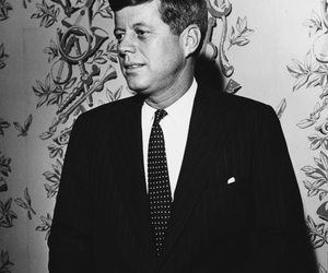 60s, JFK, and black and white image