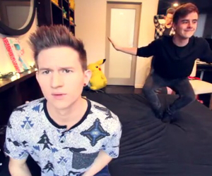 youtube, connor franta, and ricky dillon image