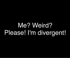 divergent, weird, and tris image