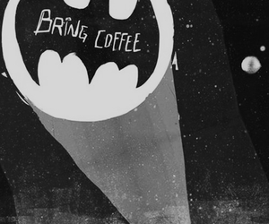 batman, coffee, and funny image