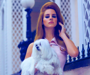lana del rey, dog, and lana image