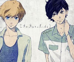 ao haru ride, anime, and mabuchi kou image