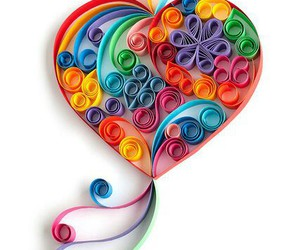 heart and quilling image