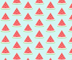 girly, wallpaper, and watermelon image