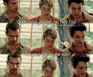 divergent, insurgent, and peter image