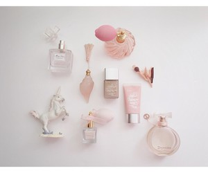 girly, perfume, and pink image