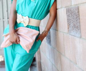 fashion, blue, and style image