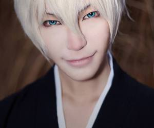 anime cosplay, bleach cosplay, and gin cosplay image