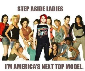 gerard way, my chemical romance, and america's next top model image