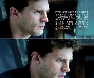 fifty shades of grey, Jamie Dornan, and end image