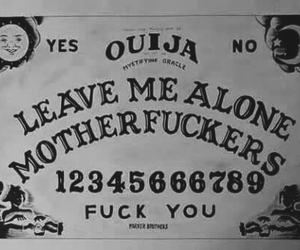 ouija, dark, and alone image