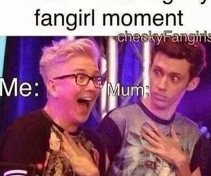 fangirl, funny, and tyler oakley image