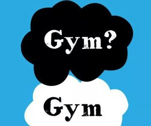 gym, motivation, and the fault in our stars image
