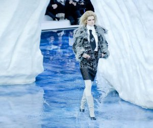 chanel, kasia struss, and fall 2010 image