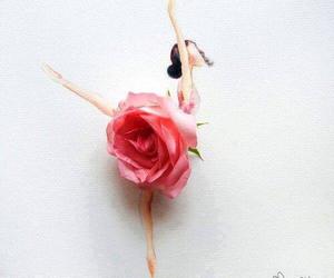 art, ballerina, and dancer image